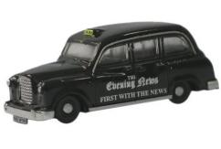 Oxford  1/148 FX4 Evening News Taxi  image