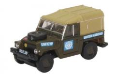 Oxford  1/148 Land Rover Lightweight - United Nations  image