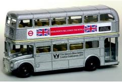 Oxford  1/148 Routemaster Bus - London Transport Silver Jubilee  image