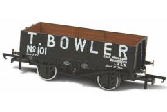 Oxford  1/76 Mineral Wagon, 5 Plank, T Bowler London No 101  image