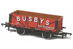 Oxford  1/76 Mineral Wagon, 5 Plank, Busby's No16  image
