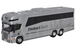 Oxford  1/76 Scania / Oakly Horsebox Stobart Sport image