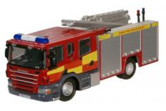 Oxford  1/76 Scania CP31 Pump Ladder Surry Fire and Rescue image