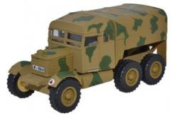 Oxford  1/76 Scammell Pioneer Artillary Tractor Luftwaffe Crete 1943 image