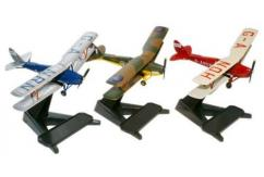 Oxford  1/72 Set of 3 Tiger Moths  image