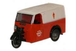 Oxford  1/76 Tricycle Van Gas and Coke Service image