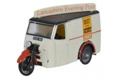 Oxford  1/76 Tricycle Van Lancashire Evening Post image