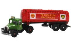 Oxford 1/76 Scammell Highwayman Tanker - Shell/BP image