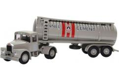 Oxford 1/76 Scammell Highwayman Tanker - Tunnel Cement image