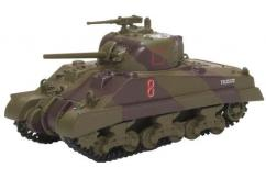 Oxford  1/76 Sherman Tank MkIII 18th Army 4th NZ Brigade image
