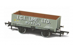 Oxford 1/76 Five Plank Mineral Wagon - ICI Lime Ltd Buxton image