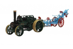 Oxford 1/76 Fowler BB1 Ploughing Engine & Fowler Plough image