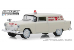 Greenlight 1/64 1955 Chevrolet Sedan Delivery - Channelview/Texas Fire image