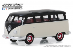 Greenlight 1/64 1965 Volkswagen Type II 21-Window Deluxe Bus image