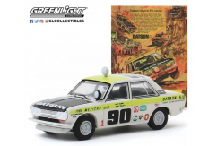 Greenlight 1/64 1969 Datsun 510 4-Door Sedan #90 image