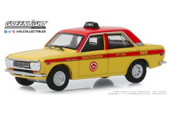 Greenlight 1/64 1970 Datsun 510 4-Door Sedan - Taxi image