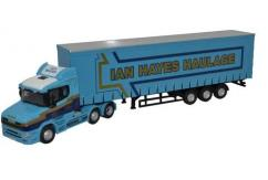 Oxford  1/76 Scania T Cab Curtainside (Ian Hayes)  image