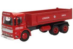 Oxford 1/76 AEC Ergomatic Tipper - London Brick image