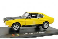 Bburago 1/32 1970 Ford Capri RS2600 Yellow image