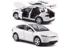 Hommat 1/32 Tesla MODEL X White image