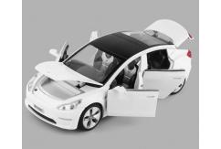 Hommat 1/32 Tesla Model 3 White image