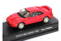 Ebbro 1/43 Toyota MR2 (SW20) Red - Limited Edition image