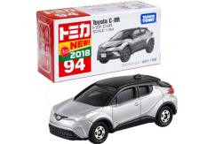 Tomica 1/64 Toyota C-HR SUV Silver #94 image