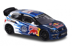 Majorette 1/64 WRC VW Polo Racing Series image