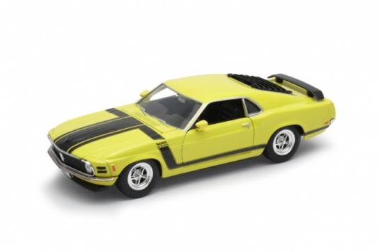 Welly 1/24 1970 Ford Mustang Boss 302 image