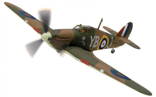 Corgi 1/72 Hurricane MkI Winged image