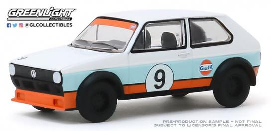 Greenlight 1/64 1974 Volkswagen Golf #9 Gulf image