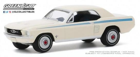 Greenlight 1/64 1967 Ford Mustang Coupe image