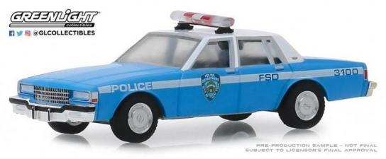 Greenlight Collectibles 1/64 1990 Chevrolet Caprice - NYPD image