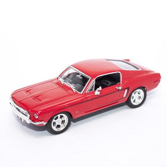 Road Signature 1/43 1968 Ford Mustang GT Red image