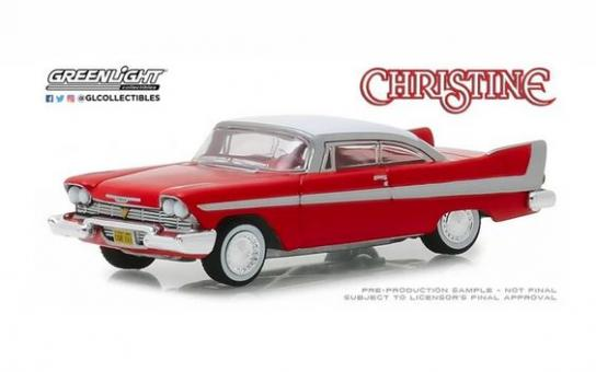 Greenlight 1/64 1958 Plymouth Fury - Christine image