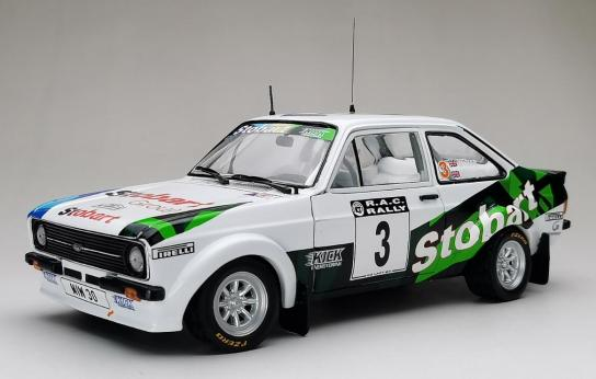 SunStar 1/18 Ford Escort RS1800 Rally 2008 image