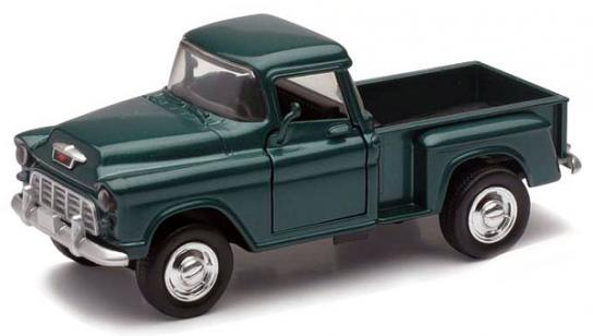 New Ray 1/32 Chevrolet Stepside Pick Up Green image