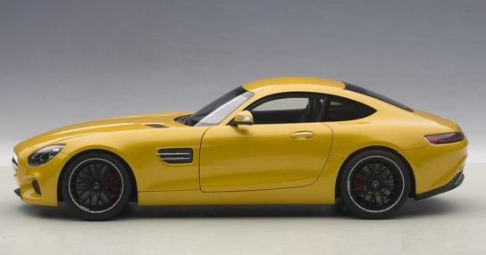 AUTOart 1/18 Mercedes Benz AMG GT S Yellow image