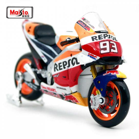 Maisto 1/18 Honda Repsol Team RC213V Racing #93 image