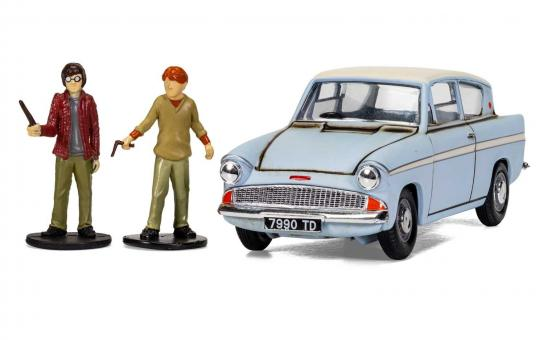 Corgi 1/43 Harry Potter Flying Ford Anglia image