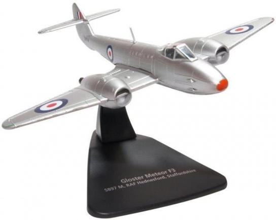 Oxford 1/72 Gloster Meteor M3 - 5897M RAF Hednesford image