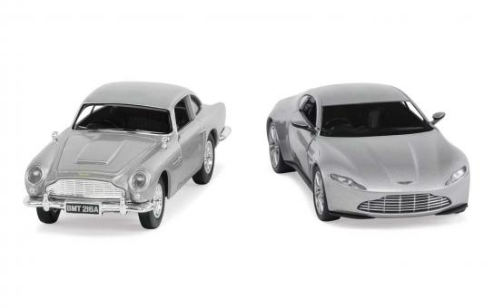 "Corgi 1/36 James Bond Aston Martin DB10 & DB5 ""Spectre"" image"