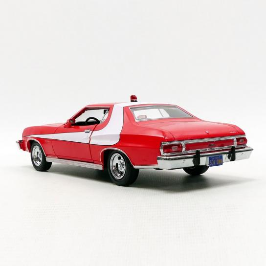 Greenlight 1/24 1976 Ford Gran Torino Red image
