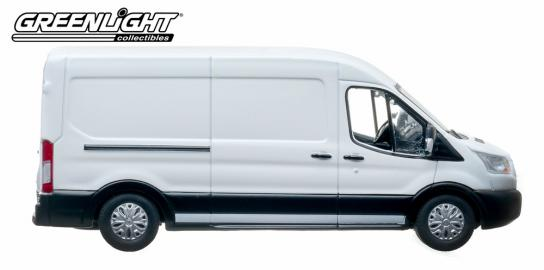 Greenlight 1/43 2015 Ford Transit (V363) White image