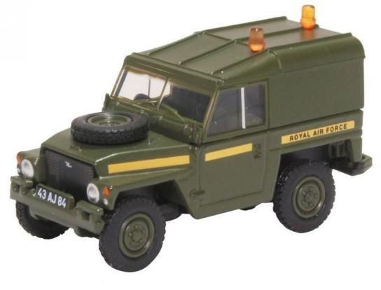 Oxford 1/76 Land Rover 1/2 Ton Lightweight - Hard Top RAF image