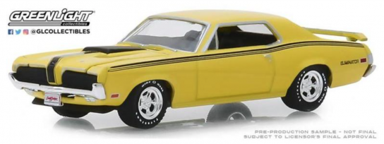 Greenlight 1/64 1970 Mercury Cougar Eliminator 428 CJ image