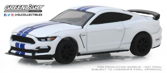 Greenlight 1/64 2015 Ford Shelby GT350R - VIN #001 image