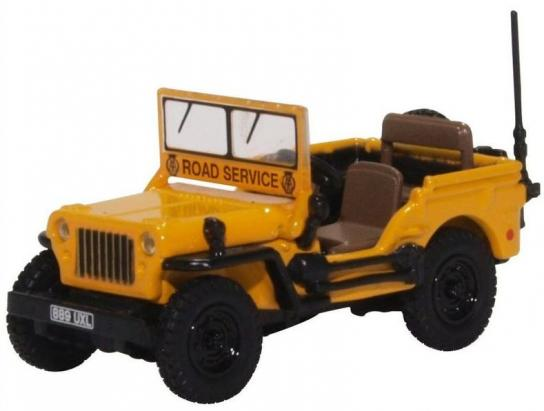 Oxford 1/76 Willys MB - AA image