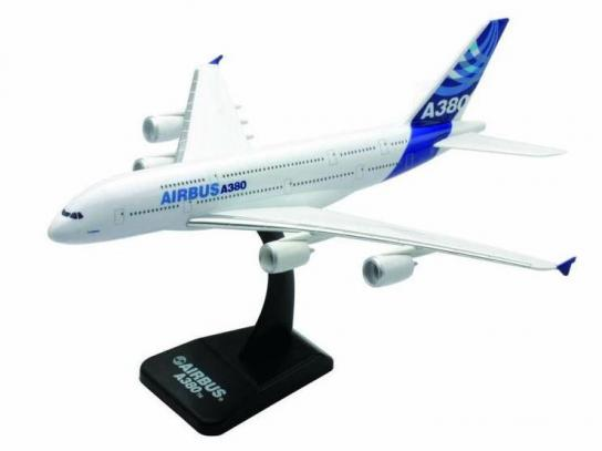 New Ray 1/300 Airbus A380 Kitset Model White image
