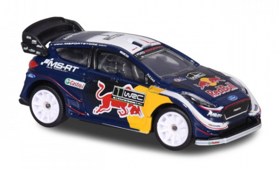 Majorette 1/64 WRC Ford Fiesta Red Bull Racing Series image